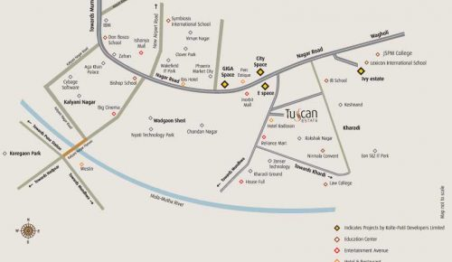 tuscan-estate-kharadi-location-map